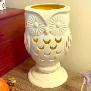 Owl Candle Luminary 🦉